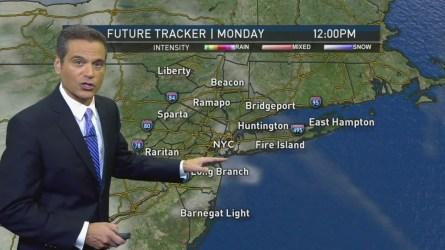 Chris Cimino's weather forecast for Monday, September 26.