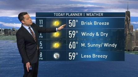 Raphael Miranda's forecast for October 23rd.