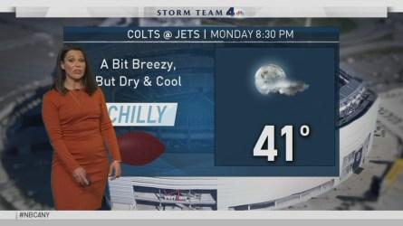 Erica Grow's forecast for December 3.