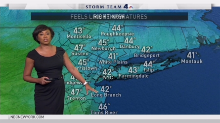 <p>Janice Huff's forecast for March 28.</p>
