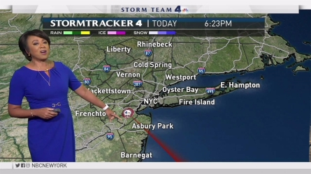 <p>Janice Huff's forecast for July 26th</p>