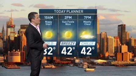 <p>Raphael Miranda's forecast for March 18.&nbsp;</p>