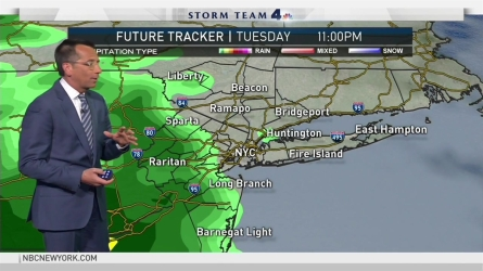 <p>Storm Team 4's Dave Price has your forecast for Monday, April 23.</p>