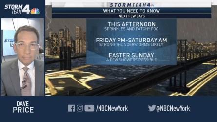 <p>Storm Team 4 has your Thursday forecast update.</p>