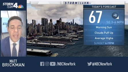 <p>Latest Forecast From Storm Team 4</p>