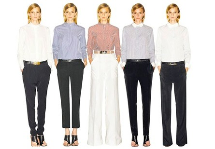 "Celine Launches ""Five Perfect Trousers"" Collection"