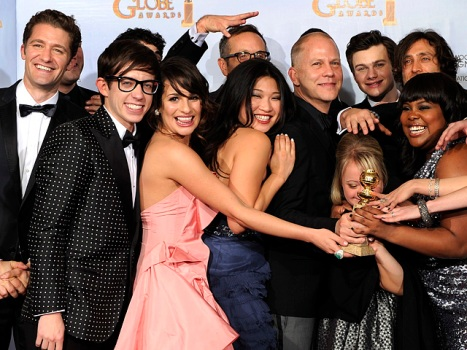"Golden Globe Voters Like ""The Social Network,"" and Are Totally ""Glee""-ful"