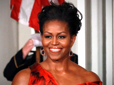 "Michelle Obama on McQueen Dress Debate: ""Women, Wear What You Love"""
