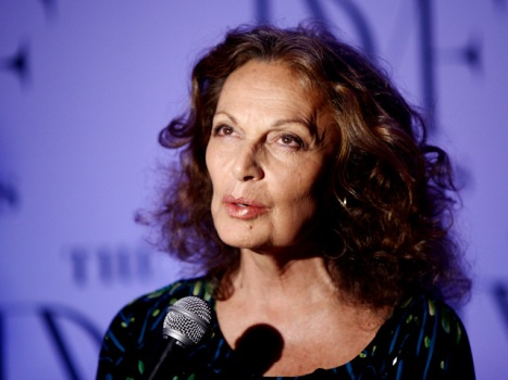 Diane von Furstenberg Takes on China