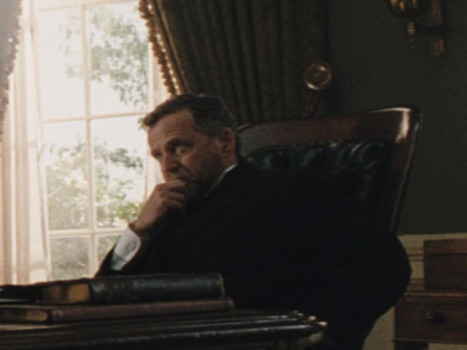 Aidan Quinn Plays Best President Grant Ever!