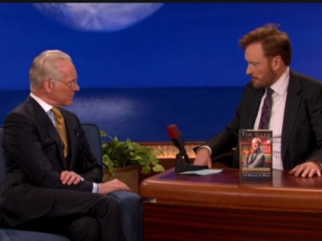 "Conan to Tim Gunn: ""I love jeggings."""