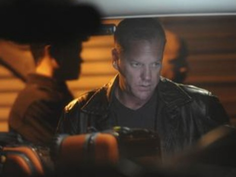 "Kiefer Sutherland Stops the Clock on ""24"""