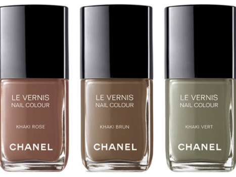 Chanel to Debut Three Khaki Nail Polishes at Fashion's Night Out
