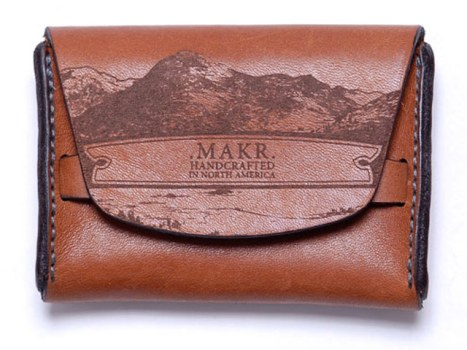 Saddle Wallet by Makr