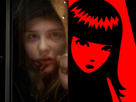 Chloe Moretz Is Emily the Strange