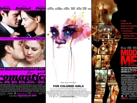 "New on Home Video: ""Romantics"" ""For Colored Girls"" and ""Middle Men"""