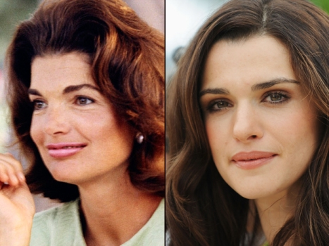 Rachel Weisz Donning Jackie Kennedy's Pillbox Hat
