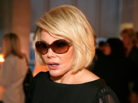 Joan Rivers Talks Kate Middleton's Style at LensCrafters Bash