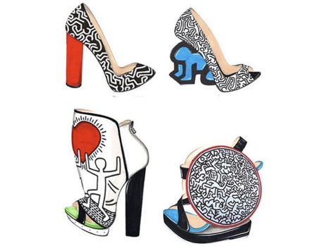 Nicholas Kirkwood Pays Homage to Keith Haring With a Shoe Line