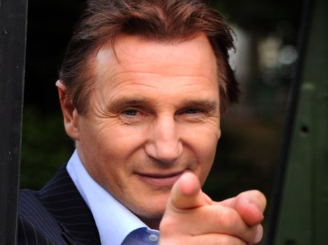 "Liam Neeson Ready to Get ""Taken"" Again"