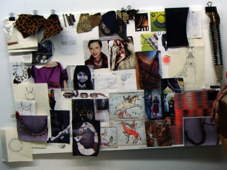 Lizzie Fortunato's Fall 2011 Mood Board