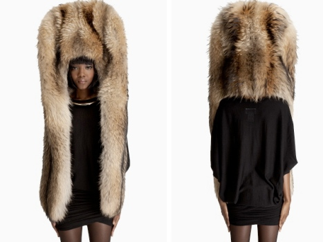 Love It or Hate It: Margiela's Enormous Fur Hood