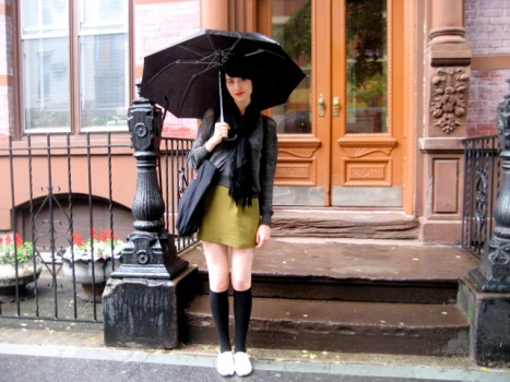 Street Style: Julia's Cheerful Rainy Day Gear