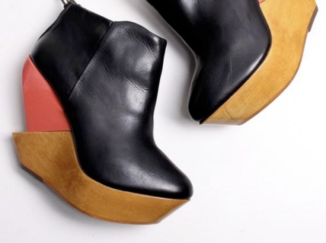 We're Loving: Color-Block Wedges from Finsk