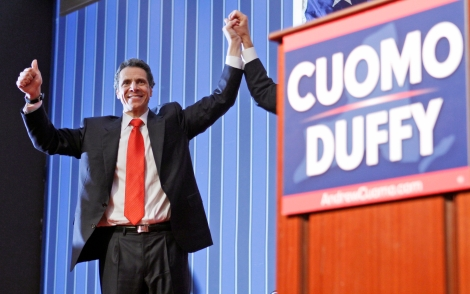 Cuomo Coasts to Victory in NY Governor's Race