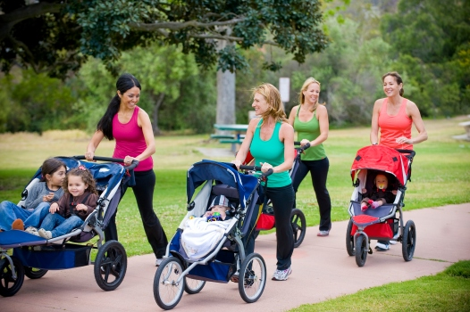 Boot Camp for Young Moms in Battery Park City