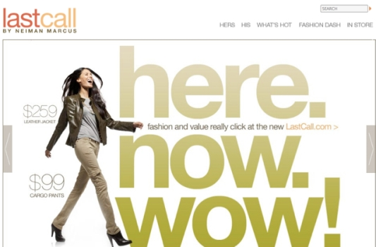 "Neiman Marcus Launches Its ""Last Call"" E-Commerce Site"