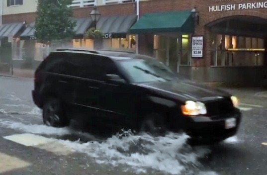 Pounding Rain, Wind Cause Flooding, Power Outages in NJ