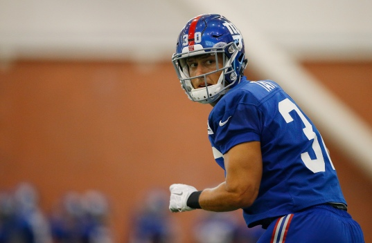 Giants Release 12, Waive Taylor, Place Stingily on IR