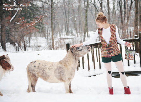 Designer Rachel Antonoff Shot Her Latest Lookbook on a Mini-Horse Farm