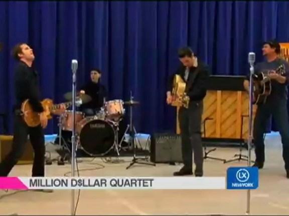 Behind the Scenes: Million Dollar Quartet