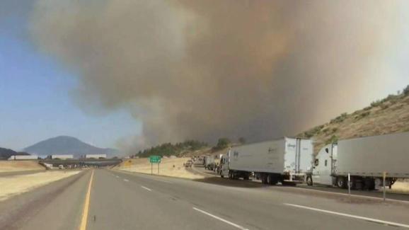 Person Dies In Wildfire Near CaliforniaOregon Border NBC New York - Minecraft ftb server erstellen ohne hamachi