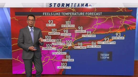 de4ffb4e Forecast for Monday, August 27 - NBC New York