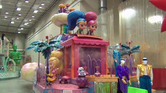 782b299c0c9 Kids Get a Sneak Peek at Thanksgiving Day Parade Floats - NBC New York