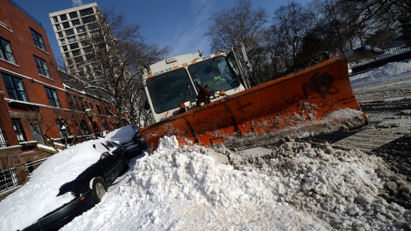 New Yorkers Can Track Snow Cleanup Online