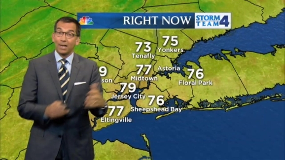 Dave Price's Midday Weather Forecast for Friday, August 28, 2015