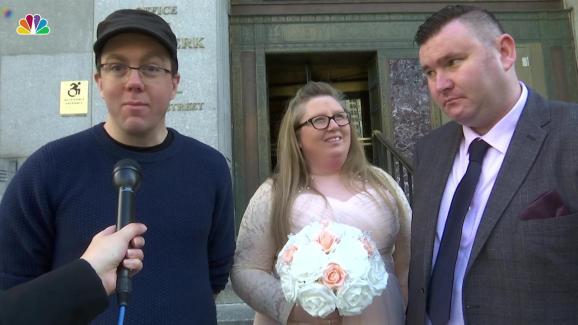 Uk Finds Witness For Nyc Wedding On Reddit