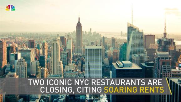 Two Iconic Nyc Restaurants Close Citing Soaring