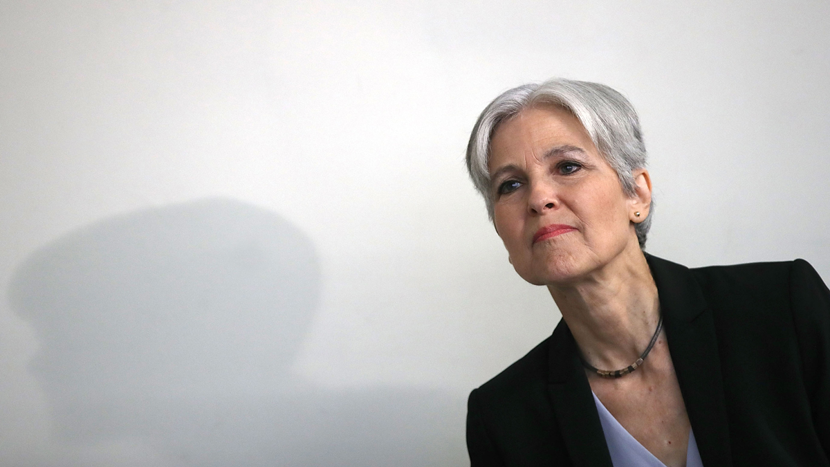 Green Party presidential nominee Jill Stein at a press conference at the National Press Club  in Washington, D.C. on Tuesday, August 23, 2016.
