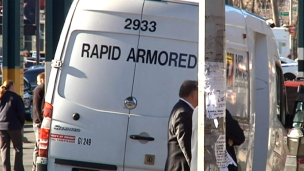 Man in Suit Sought After Armored Car Heist Shootout in NYC