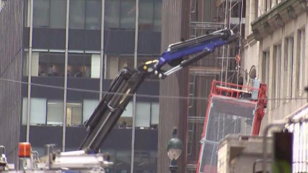 NYC On the Lookout for Boom Trucks Being Used Improperly