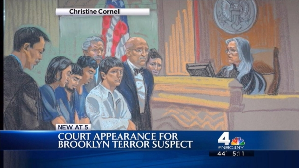 4 Terror Plot Suspects Plead Not Guilty in NYC