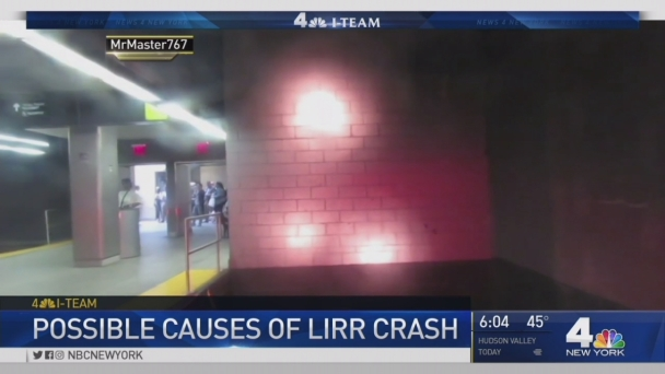I-Team: Possible Causes of LIRR Train Crash
