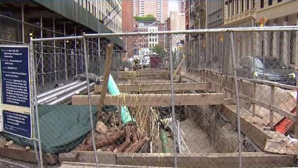 Why Construction on Lower Manhattan Street Has Taken So Long