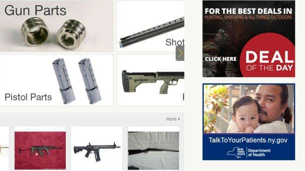 NY State Ran Ads on Website Selling Guns, Klan Robes