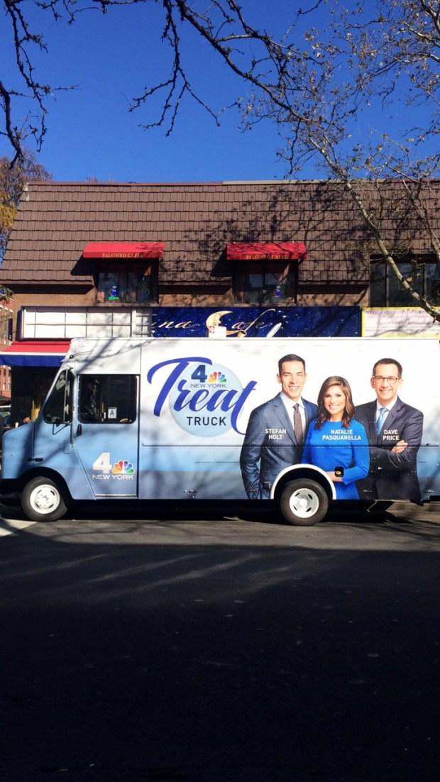 NBC 4 Treat Truck Brings Treats to Tri-State